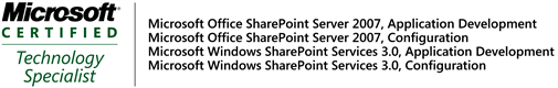 MCTS SharePoint 2007